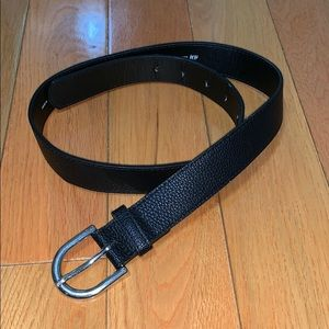 H&M Black Pebble Belt